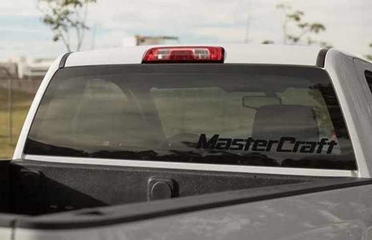 "Mastercraft 28"" Classic Decal - Black"