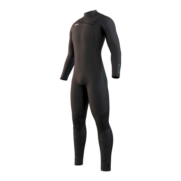 2021 Mystic Marshall FZip Full Wetsuit - 3/2mm (Black) 1
