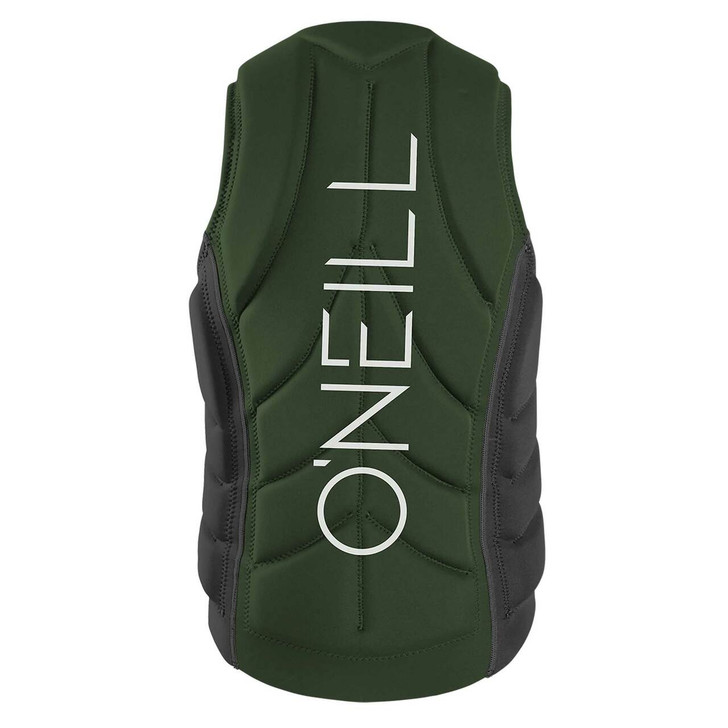 Oneill Mens Slasher Life Vest (Olive) 2
