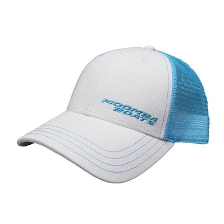 Moomba Life Cap- White/Aqua