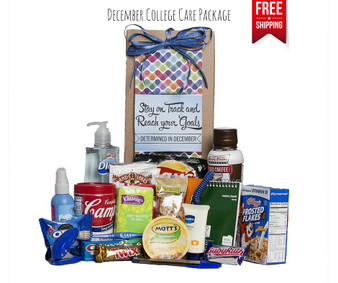 Determined in December College Care Package Free Shipping!