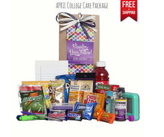 April Agenda College Care Package Free Shipping!