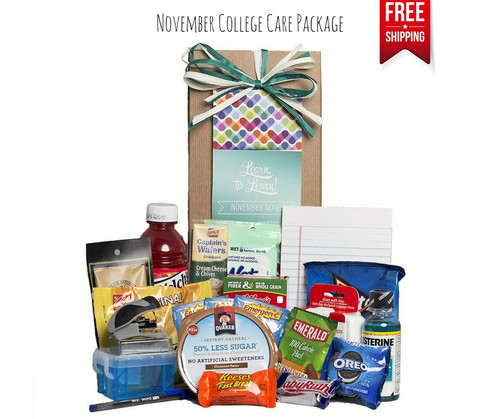 November Notes College Care Package Free Shipping!