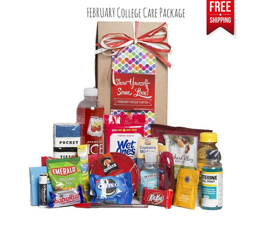 February Fatigue Fighter College Care Package Free Shipping!