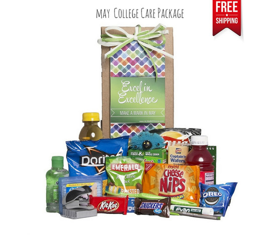 Make A Mark in May College Care Package Free Shipping!