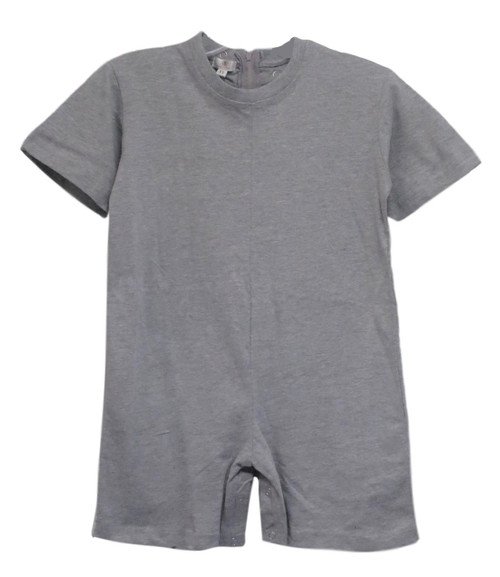 Children's Snap Crotch Onesies-Like Underwear, Grey