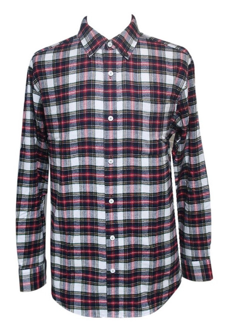 Men's Magnetic Closure Shirts-Solids or Flannel Plaids