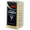 CCI Rimfire, .22 Maxi Mag. WMR, HP, 40 Grain, 50 Rounds