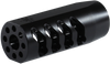 Seekins Precision AR ATC MUZZLE BRAKE 5/8X24 THREAD - MELONITED BLACK FINISH