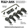 Battle Arms Development BAD-ASS Ambi Safety Selectors - 2 Levers (BAD-ASS)