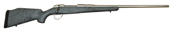 "Fierce Fury 28 Nosler"" Gray and Black w/ Titanium Muzzle Brake"