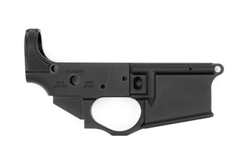 Spikes Tactical AR15 Lower Receiver - Snowflake Color Filled