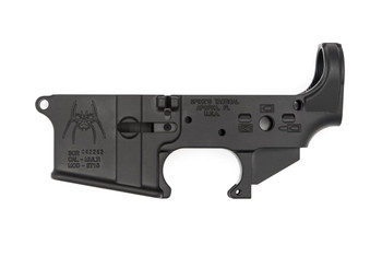 Spikes Tactical AR15 Lower Receiver - Bullet Markings