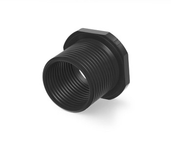 Precision Armament M4 Muzzle Thread Adapter 1/2-28 to 5/8-24 - Black