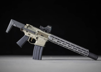 "Q Honey Badger 7"" 300 BLK SBR w/ Silencer"