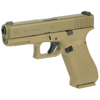 Glock 19X 9mm 19rd 3 Mags Coyote