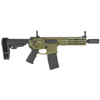 """Noveske Gen III Pistol 300BLK 8"""" SBA3 Brace - Bazooka Green"""