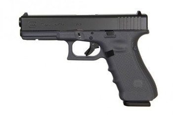 Glock 17 Gen4 Gray Frame 9mm 17+1rds