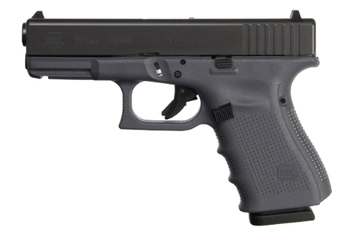 Glock 19 Gen4 9mm Gray Frame 17+1rds