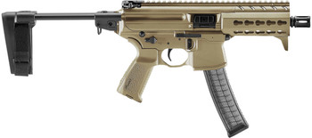 "SIG MPX 9mm 4.5"" 30RD Keymod Coyote Brown (MPX-K-9-KM-PSB-FDE)"