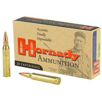 Hornady Rifle .223 Rem. 75 Grain BTHP Match 20 rounds