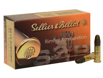 S&B 22LR Subsonic 40gr 50rds