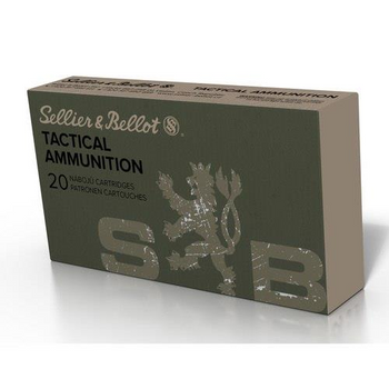 Sellier & Bellot, 6.5mm Creedmoor, FMJ, 140 Grain, 20 Rounds