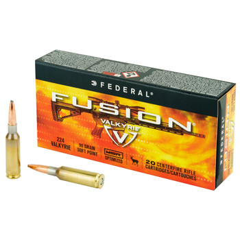 Federal Fusion 224 Valkyrie 90gr 20rd