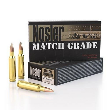 Nosler Match Grade 22Nosler 77gr Custom Competition