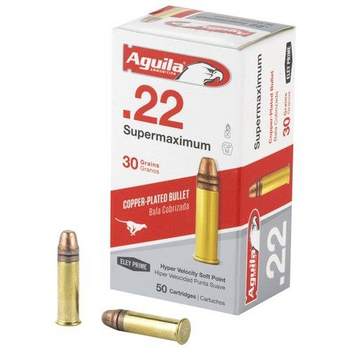 Aguila .22 Supermax 50rds