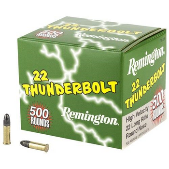 Remington 22 Thunderbolt 500rds
