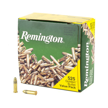 Remington .22lr HP Gold Bullet 525rds