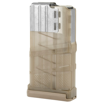 Lancer L7 Advanced Warfighter Magazine 308 Win Fits AR10 20Rd -Translucent FDE