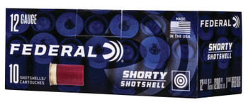 Federal 12 Gauge Shorty Shotshell Rifled Slug