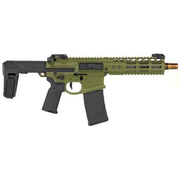 """Noveske Gen 4 Pistol 8"""" 300blk Q Brace - Bazooka Green"""
