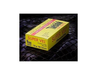 Hush Puppy Supervel 9mm 158gr FMJ Subsonic MK144 Mod 0 50rds