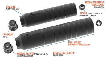 Gunwerks 8ight precision suppressor