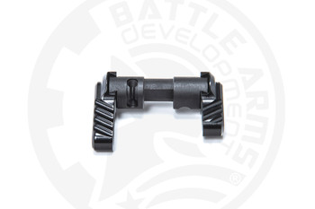 Battle Arms Development Lightweight Ambidextrous Safety Selector BLK