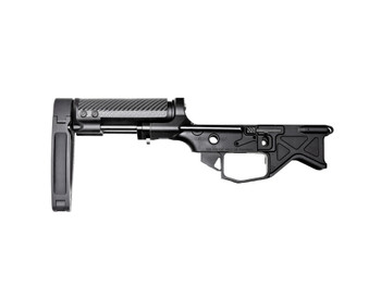 Battle Arms Development Monolithic PDW Lower Receiver + VERT Pistol Brace with Tailhook MOD1