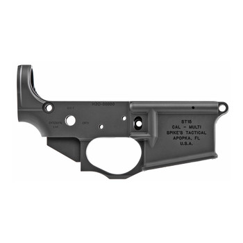 Spikes Tactical AR15 Stripped Lower - Waterboarding