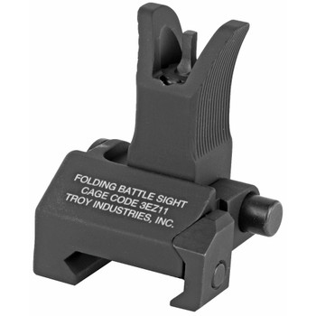 TROY Folding Front Battle Sight - Blk