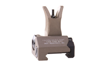 Troy Folding M4 Front Battle Sight, Flat Dark Earth