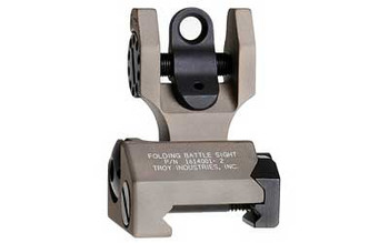 Troy Folding Rear Sight, Flat Dark Earth