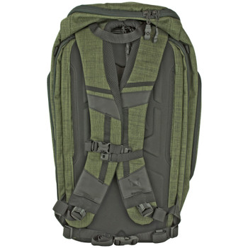 Vertx Gamut Checkpoint Backpack - Heather Green/Galaxy Black