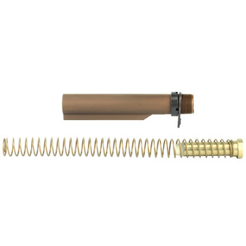 LBE Unlimited AR15 Milspec Buffer Tube Kit - Brown