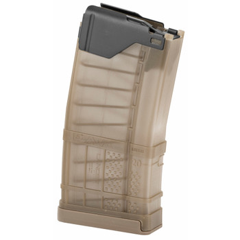 Lancer L5 Advanced Warfighter Magazine 223/556 20Rd - Translucent FDE