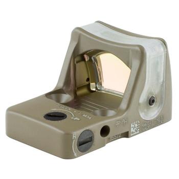 Trijicon RMR Dual Illumination 7moa Amber Dot - FDE