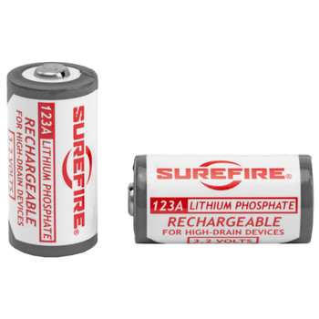 Surefire LFP123 Rechargeable Batteries