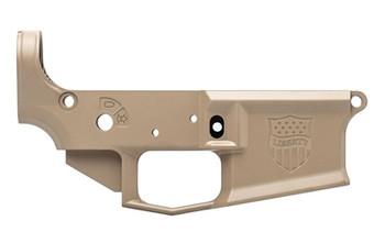 Aero Precision M4E1 Stripped Lower Receiver - Liberty FDE Cerakote - Special Edition
