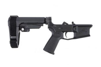 Aero Precision M4E1 Complete Lower - MOE Grip and SBA3 Brace